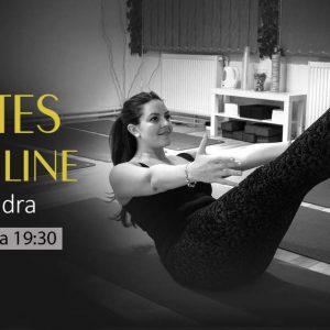 Clase de Pilates Online cu Alexandra – Decembrie