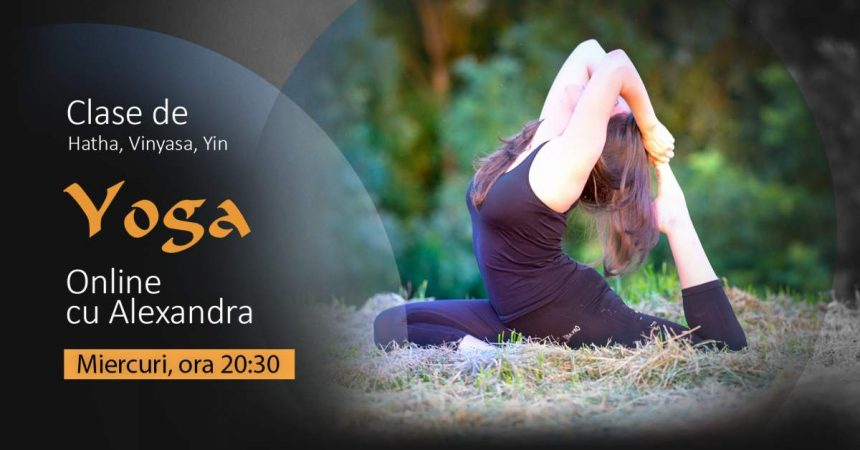 Clase de Yoga Online cu Alexandra – Decembrie